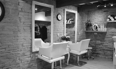 VIP Hair Salon Holmfirth Interior 2